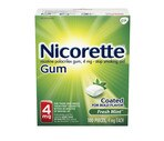 Nicorette 4 Mg Fresh Mint