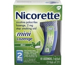 Nicorette Mini Stop Smoking Aid Lozenge Mint 2 mg