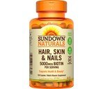 Sundown Naturals Hair Skin & Nails Caplets