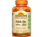 Sundown Naturals Extra Strength Omega-3 Fish Oil Softgels 1200 mg