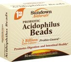 Sundown Naturals Probiotic Acidophilus Beads