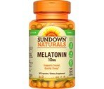 Sundown Naturals Maximum Strength Melatonin 10 mg Capsules