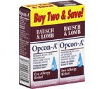 Bausch & Lomb Opcon-A Eye Drops