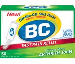 BC Arthritis Formula Fast Pain Relief Powders