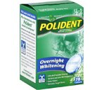 Polident Overnight Whitening Tablets
