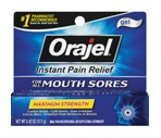 Orajel Mouth Sore Gel