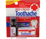 Red Cross Toothache Complete Medication Kit