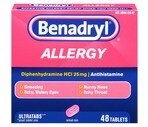 Benadryl Allergy Antihistamine Tablets
