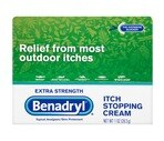 Benadryl Itch Stopping Cream Extra Strength