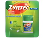 Zyrtec Allergy 10 Mg Tablets