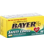 Bayer Aspirin Safety Coated 325 Mg Caplets