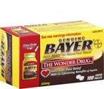 Bayer Aspirin Tablets Easy Open Cap