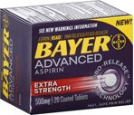 Bayer Advanced Aspirin Extra Strength Coated Tablets