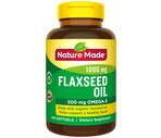 Nature Made Omega-3 Flaxseed Oil 1000 Mg Softgels