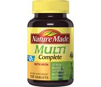 Nature Made Multi Complete Tablets with Iron
