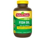 Nature Made Fish Oil with Omega-3 Liquid Softgels 1000 mg
