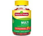 Nature Made Multi Adult Gummies Orange, Cherry & Mixed Berry Flavor