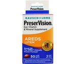 PreserVision Eye Vitamin & Mineral Supplement AREDS Lutein Soft Gels