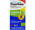 Bausch & Lomb PreserVision AREDS 2 Formula Eye Vitamin & Mineral Supplement Softgels