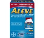 Aleve Naproxen Sodium Tablets 220 mg with Easy Open Arthritis Cap