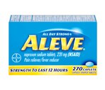 Aleve Naproxen Sodium Pain Reliever/Fever Reducer Tablets