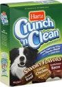 Hartz Crunch 'N Clean Dog Biscuits for All Size Dogs Savory Flavors
