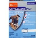 Hartz 3 In 1 Control Collar For Dogs White & Blue