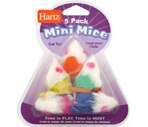 Hartz Mini Mice Cat Toy
