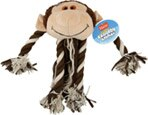 Hartz Plush Rope Dog Toy Raggedy Animal