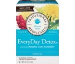 Traditional Medicinals Every Day Detox All Natural Herbal Tea