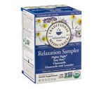 Traditional Medicinals Organic Herbal Tea Bags Relaxation Sampler, 16CT