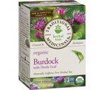 Traditional Medicinals Organic Herbal Tea Bags Burdock with Nettle Leaf, 16CT