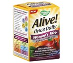 Nature's Way Alive Once Daily Women's 50+ Ultra Potency Multi-Vitamin & Whole Food Energizer Tablets