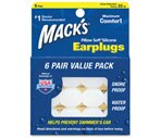 Mack's Pillow Soft Earplugs White