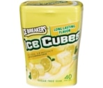 Ice Breakers Long Lasting Ice Cube Sugar Free Gum Cool Lemon