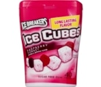 Ice Breakers Ice Cube Sugar Free Gum Raspberry Sorbet