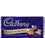 Cadbury Milk Chocolate With Roasted Almonds