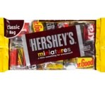 Hershey's Assorted Milk Chocolate and Dark Chocolate Miniatures