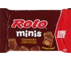 Rolo Unwrapped Mini Chewy Caramels in Milk Chocolate King Size