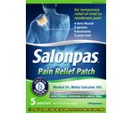 Salonpas Pain Relief Patch Minty Scent
