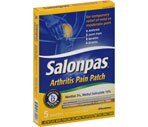 Salonpas Arthritis Pain Ultra Thin Comfort Stretch Patches