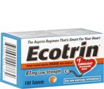 Ecotrin Tablets Adult Low Strength