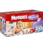Huggies Supreme Little Movers Diapers Size 3 (16-28 lb)
