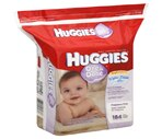 Huggies Thick 'n' Clean Sensitive Baby Wipes