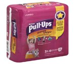 Pull-Ups Training Pants Cool Alert Girls 3t-4t 32-40 Lbs