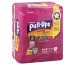 Pull-Ups Learning Designs Training Pants Girls 4t-5t 38+ Lbs
