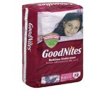 Goodnites Underpants Girls L/XL 60-125+ lbs