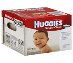 Huggies Simply Clean Fragrance Free