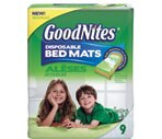 GoodNites Disposable Super Absorbent Bed Mats with Adhesive Strips