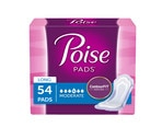 Poise Long Length Moderate Absorbency Pads